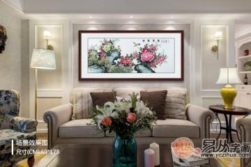 客厅合适挂什么画易从网有你想要的国画花鸟画